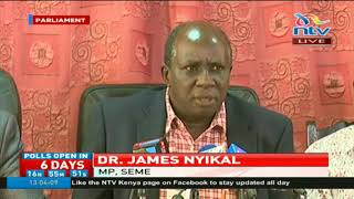 Seme MP James Nyikal; Kenya has a state but we do not have a nation
