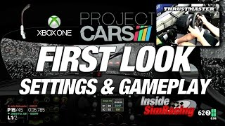 Project CARS XBox One Settings & Gameplay w/ Thrustmaster TX