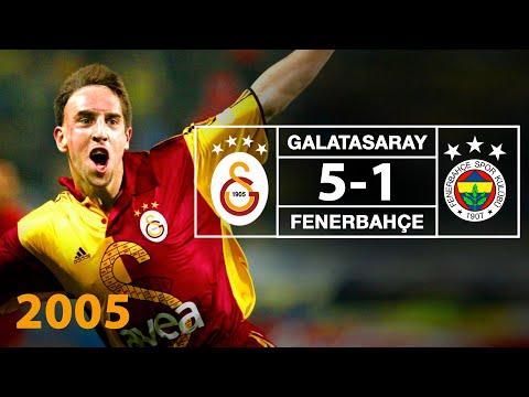 Nostalji Maçlar | 2004-2005 Sezonu Galatasaray 5 - 1 Fenerbahçe