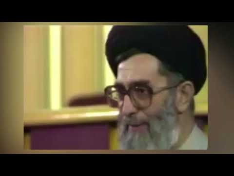 "Bombshell video surfaced from 1989 ""I am not qualified to be the leader"" says Khamenei"