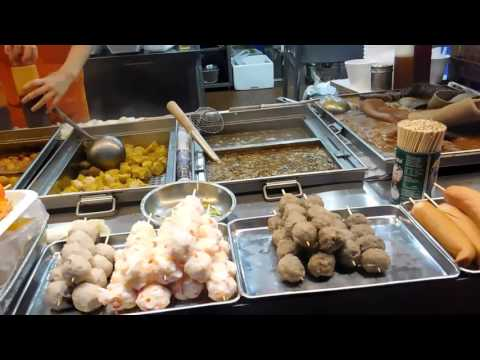 Street Foods at Temple Street Night Market