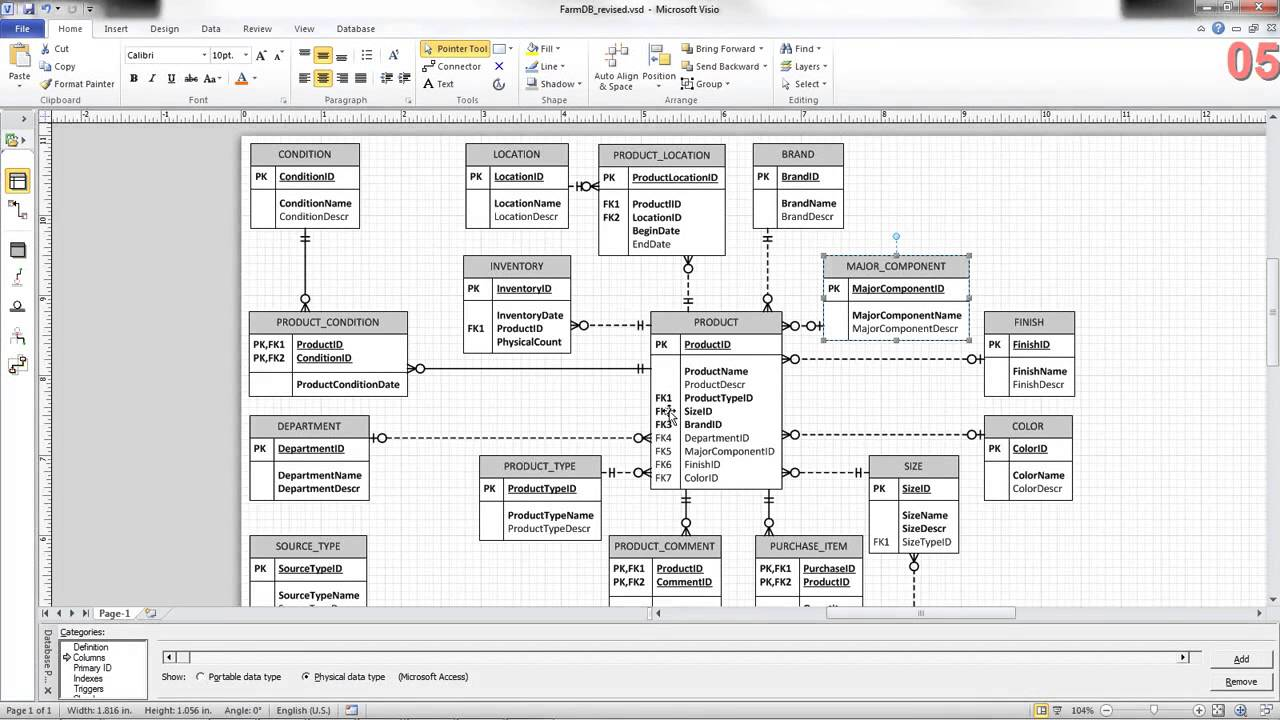 er diagram for inventory management system pagsta mini chopper wiring erd review family farm db youtube