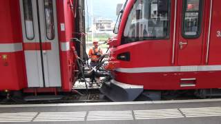 Italy: Bernina Railway, Tirano coupling, 17Sep14