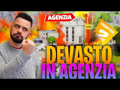 FORTNITE: ho ANNIENTATO 2 Team All'agenzia... DEVASTO!