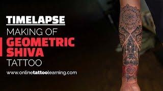 3f85094d8 Tattoo Timelapse - Making of Geometric Lord Shiva Tattoo