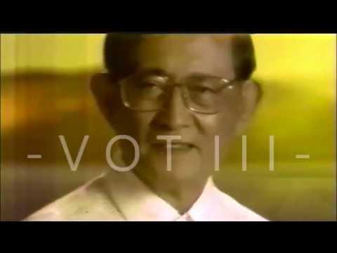 LUPANG HINIRANG 1998 - Kasama si Fidel Ramos (Sentenaryo at Philippines 2000)