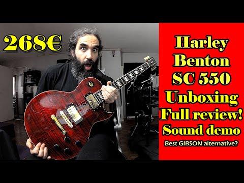avis guitare harley benton 550