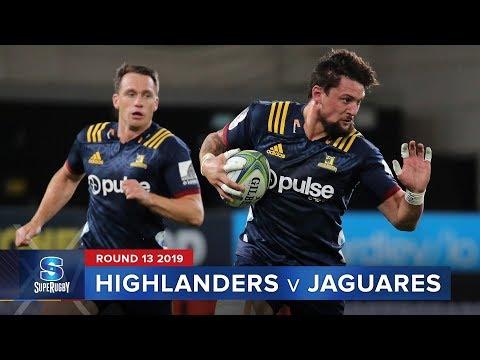 Highlanders  v Jaguares   Super Rugby 2019 Rd 13 Highlights