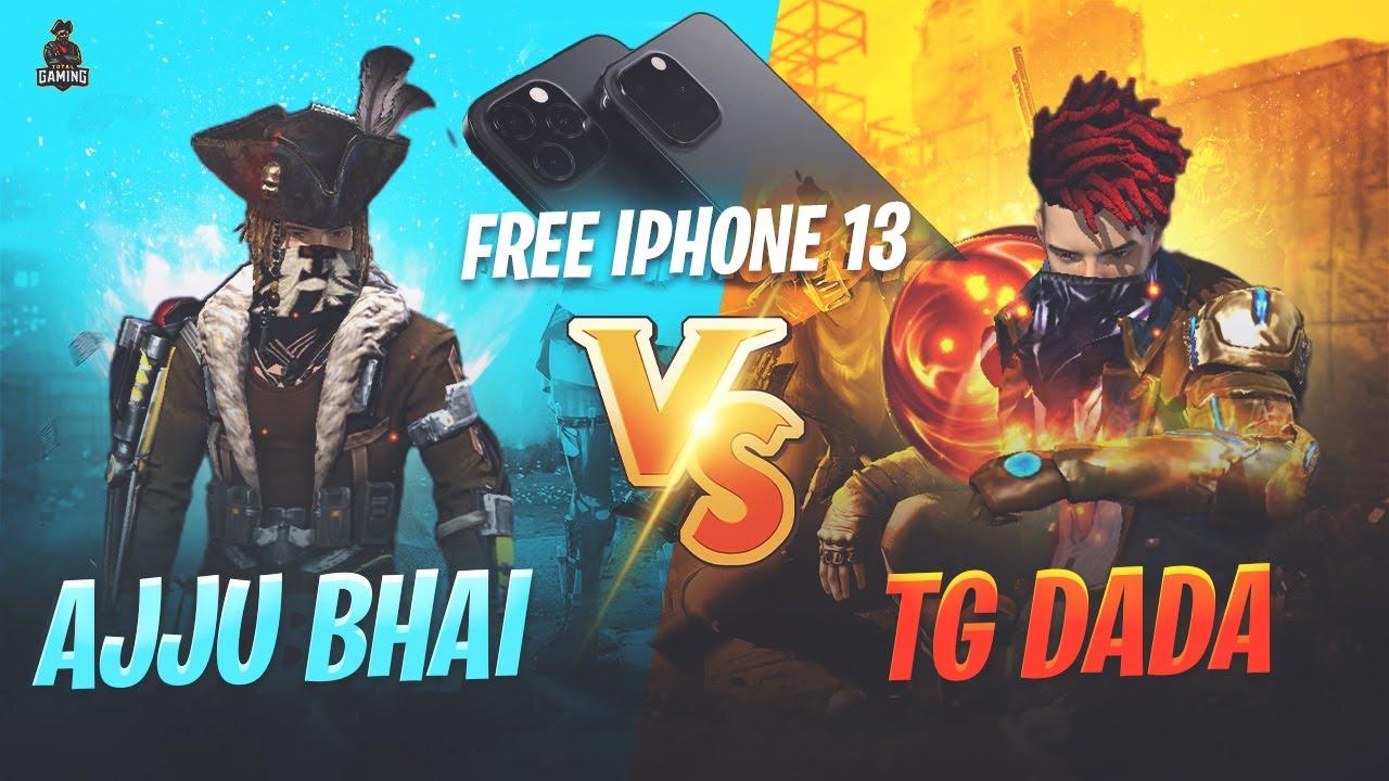 Download Ajjubhai94 vs TG DADA Free iPhone 13 Pro MAX for DADA - Garena Free Fire