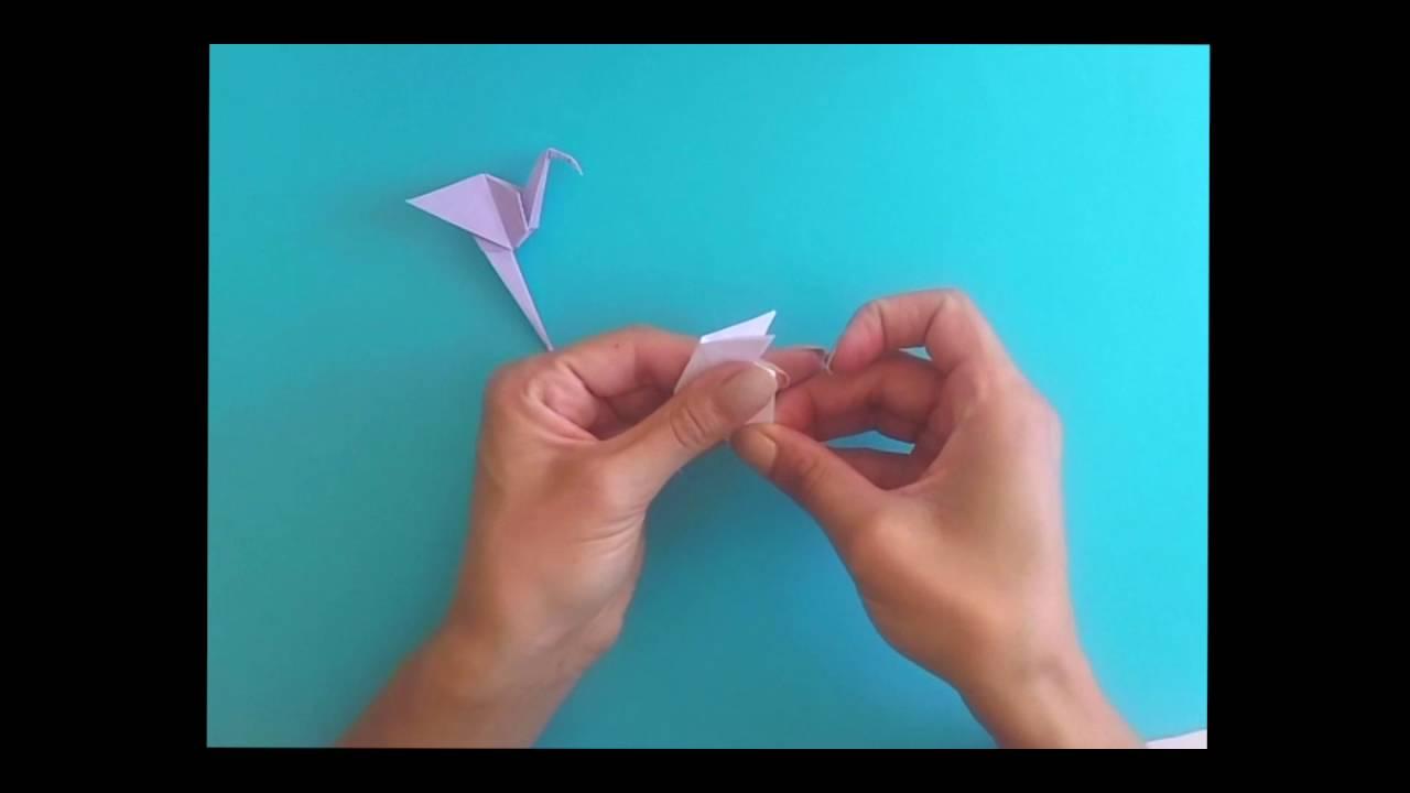 Tutoriel Origami Flamant Rose Par Juste Comme Ca Youtube