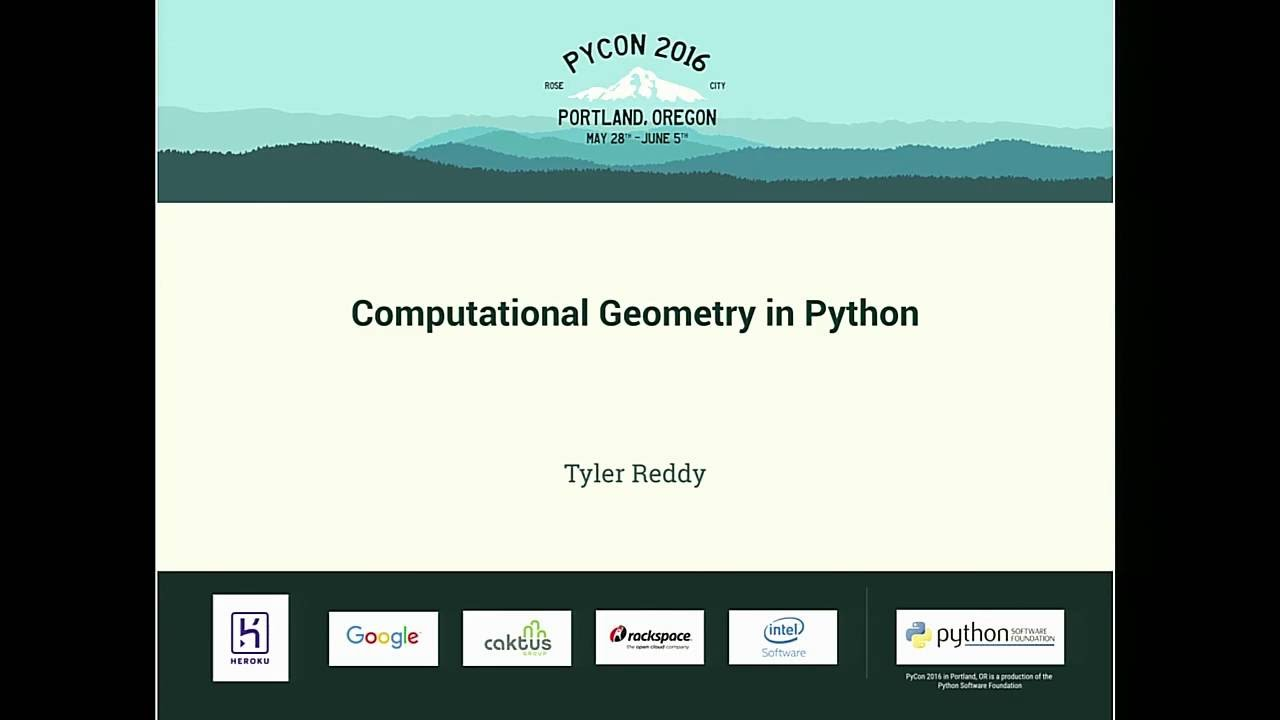 Image from Computational Geometry in Python