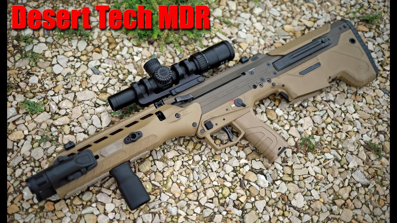 Desert Tech Mdr Upgraded First Shots Youtube