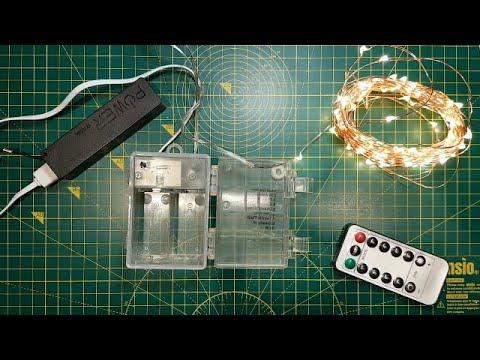 Fairy Light Convert To USB