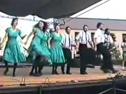 Cane Creek Cloggers full performance in Winston-Salem 1988