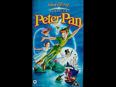 Digitized opening to Peter Pan (2000 VHS UK)