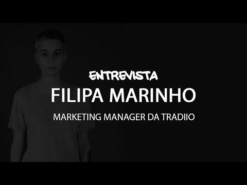 FILIPA MARINHO   MARKETING MANAGER TRADIIO