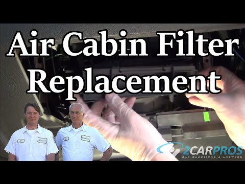 Cabin Air Filter Replacement Ford Edge 2006-2014