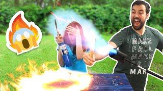 Using a Flamethrower... for Art?