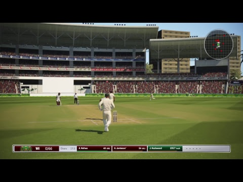 Ashes Cricket - Tour of the Carribean - Test Match - Australia 439 West Indies 4/244