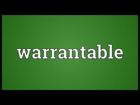 Header of warrantable