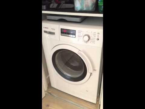 bosch wvh28360gb washing machine vibrating and sounds like a jet rh youtube com bosch washing machine manual classixx 7 bosch washing machine manual classixx 6 1200 express