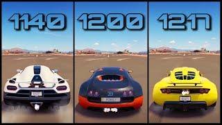 Ultimate +1000HP Battle! | Forza Horizon 3 | Agera R vs Veyron SS vs Venom GT