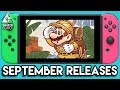 All Nintendo Switch Games September 2017 - Release Dates + What To Buy