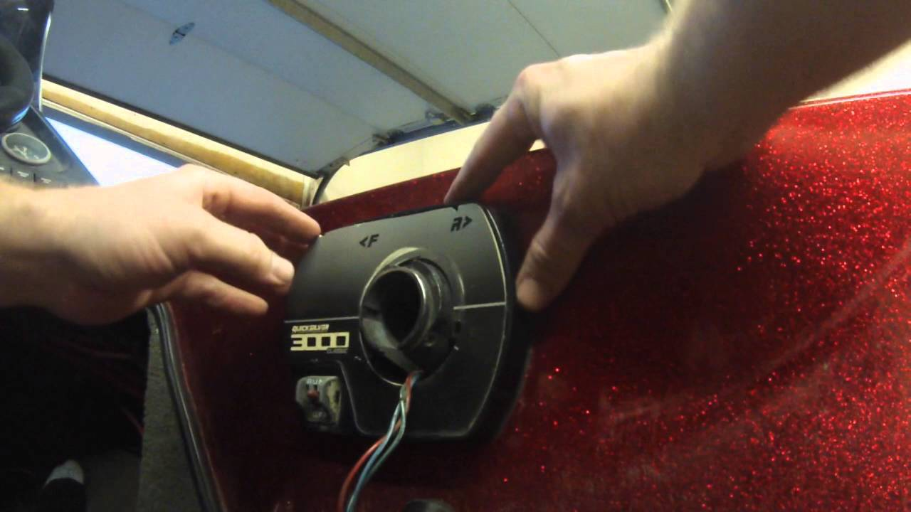 Quicksilver 3000 Throttle Removal & Installation Ranger
