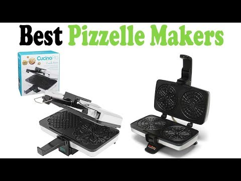 5 Best Pizzelle Makers 2018 – Pizzelle Makers Reviews