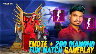 Free Fire New Top Up Emote + DJ Alok Giveaways With Fun Match | Free Fire Tamil Live /PvsGaming