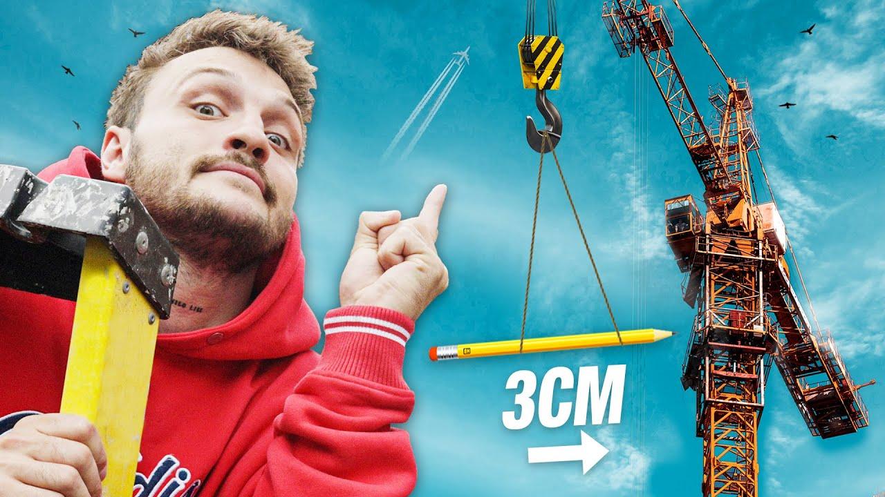 Buying A Crane To Move A Pencil 3cm