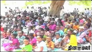 Students & Parents Demand Govt to Take over a school in Gingee that is Govt Aided - Dinamalar News