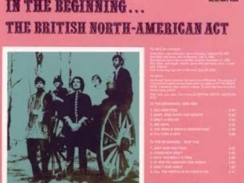 The British North American Act - Don't Run Away