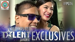 PGT 2018 Exclusives Judge Angel and Michael Aco meet backstage