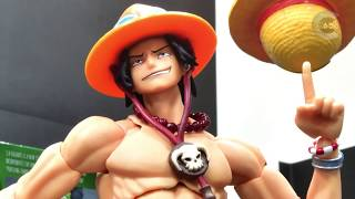One Piece Stop Motion - Luffy VS Ace