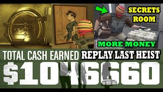 CASINO HEIST FINAL MISSION RINSE & REPEAT GLITCH IN GTA 5 ONLINE ($600,000,000 EZ) SECRET MONEY ROOM