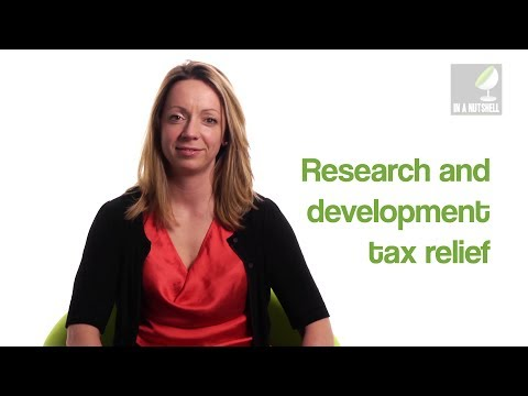 Research and development tax relief - In a nutshell