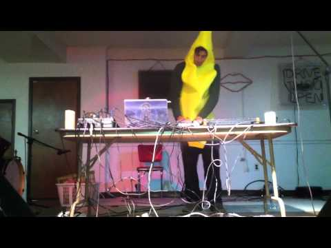 Alzabo-Live Acid in a Banana Suit at Lansdale Music Factory [art ghoulery]