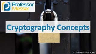 Cryptography Concepts - CompTIA Security+ SY0-501 - 6.1