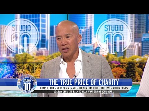 Why Dr Charlie Teo Walked Away From His Own Brain Cancer Charity | Studio 10