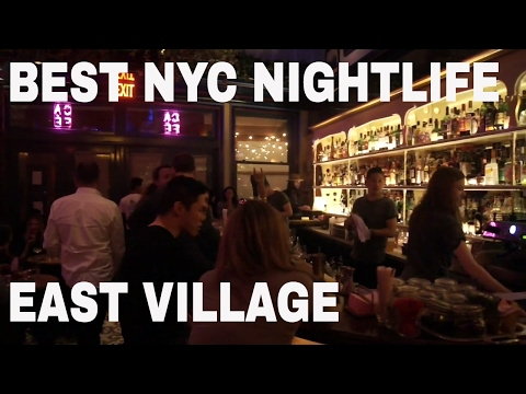 New York Nightlife - East Village