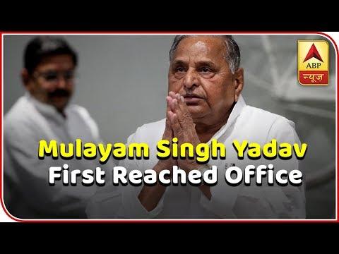 2019 Kaun Jitega: Mulayam Singh Pays Visit To Shivpal's Party Office | ABP News
