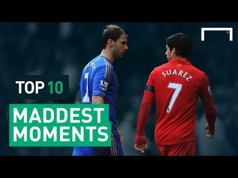Top 10 Maddest Moments In Football