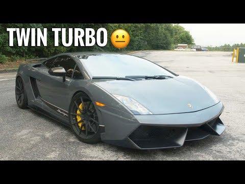 Driving My First Twin Turbo Lambo - Twin Turbo Lamborghini Gallardo Superleggera Review