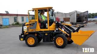 ОБЗОР ФРОНТАЛЬНОГО ПОГРУЗЧИКА REDSTAR 150