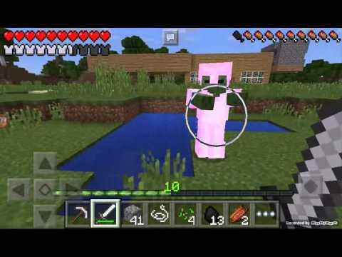 Minecraft pe  serie en solitario cap 3