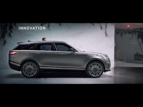 The New Range Rover Velar -  Innovation