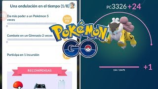 PRIMERAS MISIONES DE CELEBI MÁS SUBIDA DE RAIKOU AL MÁXIMO! [Pokémon GO-davidpetit]