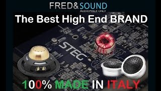 STEG Audio system Italy, 100% MADE IN ITALY how its made (INT)