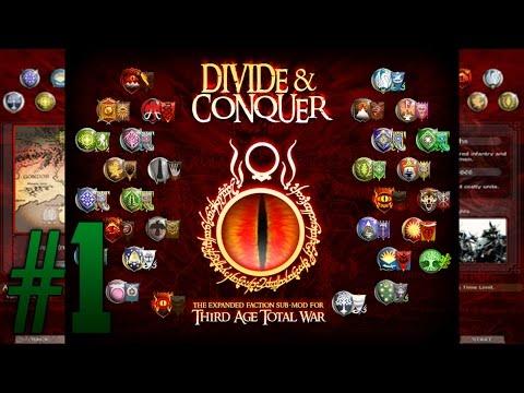 Обзор мода Divide and Conquer [Medieval 2: Total War] - Расширение Средиземья